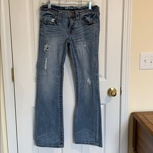 Victoria's Secret Low 5 Flap Pocket Jeans Size 8